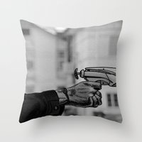Nerf War Throw Pillow