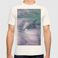 Kingdom of the little seagull Mens Fitted Tee Natural SMALL