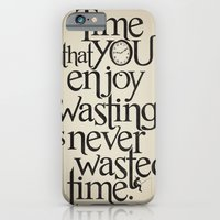 iPhone & iPod Case featuring Wasting Time by Andrew Treherne