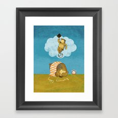 What bears dream of Framed Art Print