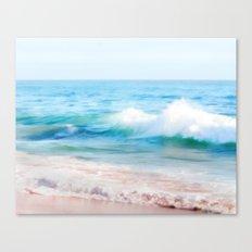 Aquamarine Dreams 1 Canvas Print