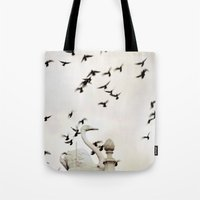 The Spell Of The Swan Tote Bag