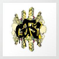 GFS Art Print