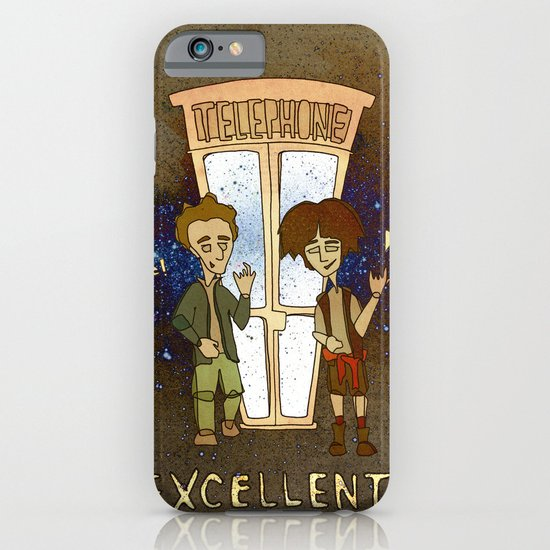 Bill & Ted's Excellent Adventure (1989) iPhone & iPod Case