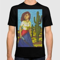 Pearl of Arizona Mens Fitted Tee Black SMALL