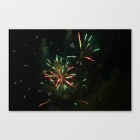 ~Firework Madness~ Canvas Print