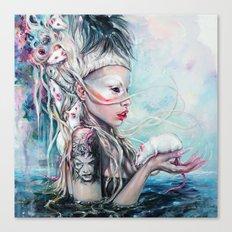 Yolandi The Rat Mistress… Canvas Print