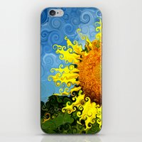 The Day of the Sunflower iPhone & iPod Skin