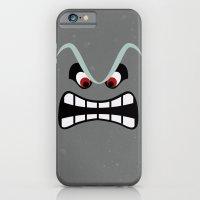 iPhone & iPod Case featuring Minimalist Thwomp by beware1984