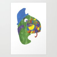 There Was An Old Man, On… Art Print