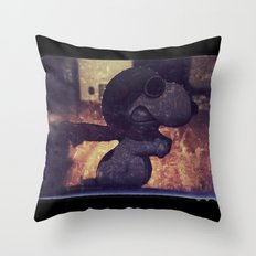 Flying Ace  |  Snoopy Throw Pillow