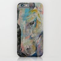 iPhone & iPod Case featuring Hidden Heart Horse by Michael Creese