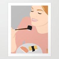 Sushi!!!!! Art Print