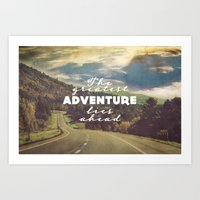 The Greatest Adventure Art Print