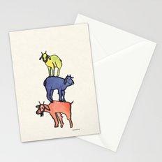 3 Billy Goats Up Stationery Cards