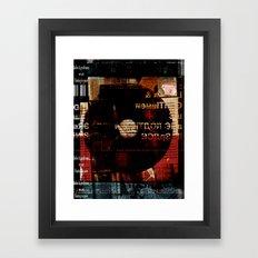 ln Framed Art Print
