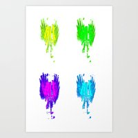 Quattro - Light Bulb Gor… Art Print