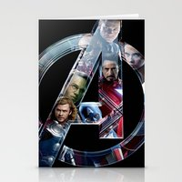 The Avengers 2 Stationery Cards
