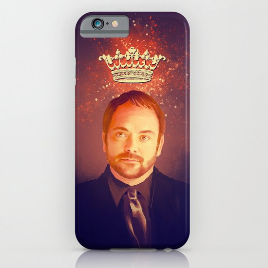 Crowley - Supernatural iPhone & iPod Case