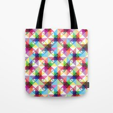 Abstract blocks pattern Tote Bag