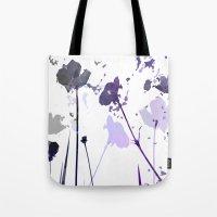 Field of Flowers Indigo Tote Bag