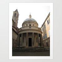 Bramante's Tempietto Art Print