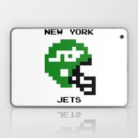 Old School New York Jets Laptop & iPad Skin