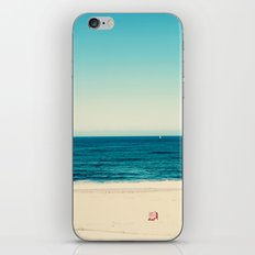 beach feeling iPhone & iPod Skin