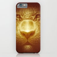 iPhone & iPod Case featuring Gold Tiger by Dr. Lukas Brezak