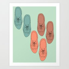 Oxfords Art Print