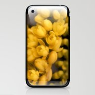 Tiny Yellow Blossoms iPhone & iPod Skin