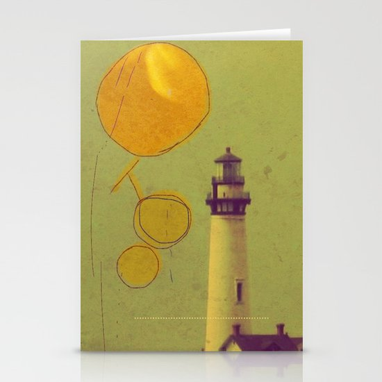 raindrops Stationery Card
