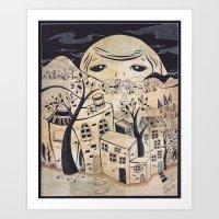 Recipe for Imagination City.... Art Print