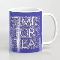 Time For Tea (Royal Blue… Mug
