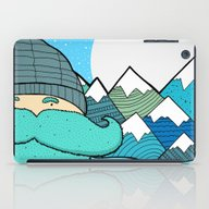 Blue Beard iPad Case