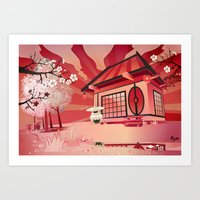Imaginary Landscape Art Print