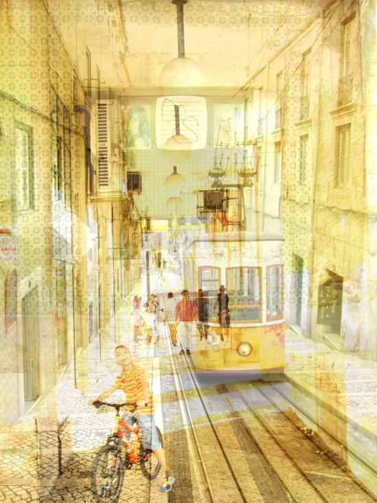 Memories from Lisbon Art Print
