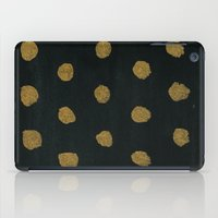 GOLD DOTS iPad Case