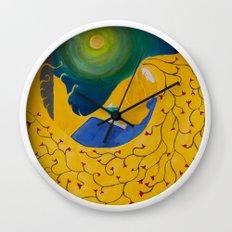 Rapunzel Wall Clock