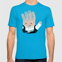Hand Solo Mens Fitted Tee Teal SMALL