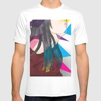 nube mente corazon Mens Fitted Tee White SMALL