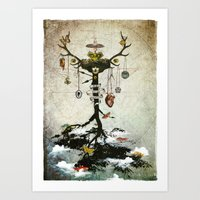 Supernatural - Strange Fruit Art Print
