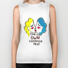 we are lesbians for our own entertainment Biker Tank