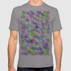 galaxy test SMALL Tri-Grey Mens Fitted Tee