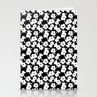 Mod Flower Stationery Cards