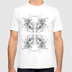Equilibrium 02 Mens Fitted Tee SMALL White
