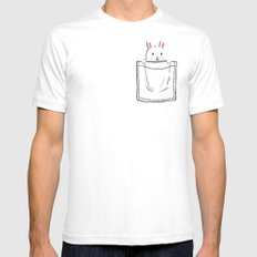 My Pet Mens Fitted Tee White SMALL