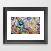 DON'T Framed Art Print