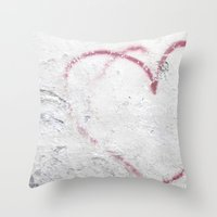 In My Heart - Italy Throw Pillow