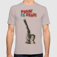 Punky Harry Mens Fitted Tee Cinder SMALL